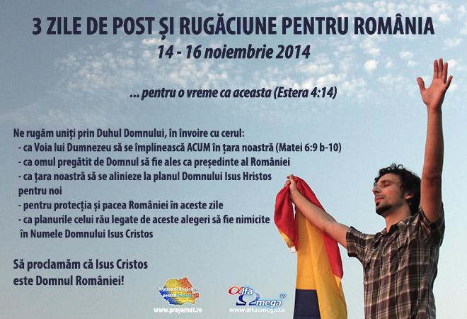 3ZILE_POST_RUGĂCIUNE_ROMÂNIA_16noiembrie2014